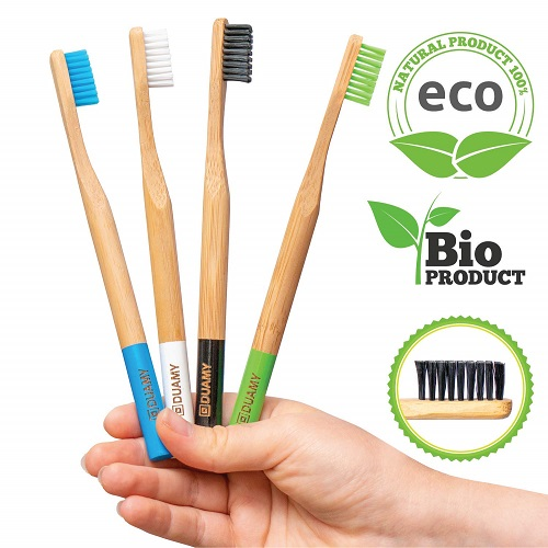 cepillos de dientes de bambu